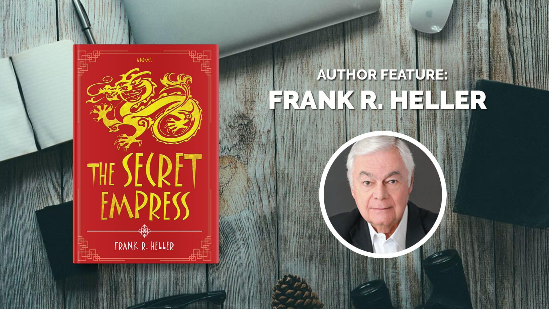 Author Feature: Frank Heller banner